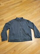 Vintage Polo Zip Up Jacket - Size Large - Cotton - No Flaws