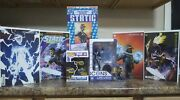 Dc Milestone Static 1 Comic Books And Action Figure Lot. Brand New And Sealed.