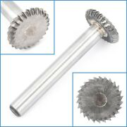 16mm X 3mm Carbide Rotary File Carving Rasp Burr Disc Grinding Milling Drill Bit