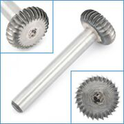 16mm X 6mm Carbide Rotary File Carving Rasp Burr Disc Grinding Milling Drill Bit