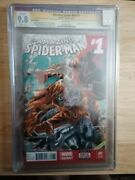 Amazing Spiderman 1 Cgc Ss 9.8 Signed And Remarked John Rivett + As 700 Variant