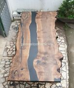 Epoxy Coffee | Dining Table | River Table Epoxy | Acacia Dining Table Home Decor