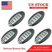 5x New Replacement Keyless Entry Remote Control Key Fob For Nissan Maxima Altima