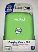 Leap Frog Leap Pad 2 Explorer Carrying Case Holds 6 Cartridges Green New In Box