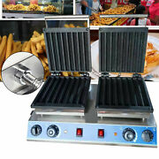 Commercial Waffle Maker Machine Nonstick Temperature And Time Control 3000w