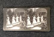 Lot 7 Stereoviews 1902 Wedding, Victorian Photographs, Antique Photography