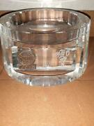 Suntory Hibiki Crystal Display Stand For 21 Years Bottle Limited