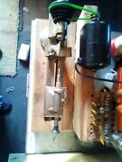 Watchmakers Jewellers Lathe With Adjustable Tool Rest, Motor And Pedal