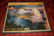 White Mountain Puzzles B-17 Bomber 1000 Piece Jigsaw Puzzle Last Mission 909 New