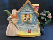 Teapot Vintage Wizard Of Oz 1999 Dorothy Toto House Glinda Wicked Witch