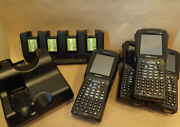 Lot Of 4 Psion Workabout Pro 3and039s Fully Rfb And Accessories Complete Kit