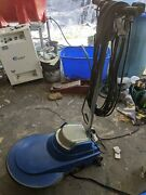 Jan-pro Cleaning Systems Floor Polisher Scrubber Sander Buffer Machine Used