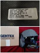 Gentex Hgu-56p Us Large Helicopter Flyers Helmet Andbox Communications++ Indy Car