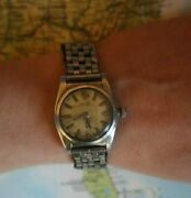Rolex Oyster Perpetual Officially Certified Chronometer Bubble Back 2940 Rare