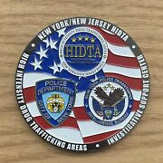 Nypd Police New York Interagency Hidta Mtapd Papd Njsp Fdny Njtpd Challenge Coin
