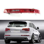 Right Side Rear Lower Bumper Tail Light Lamp Red For Audi Q7 2007-2015