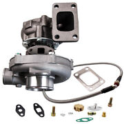 .63 A/r Stage Iii T04e T3 T4 44 Trim Compressor Turbocharger 4an Oil Feed Line