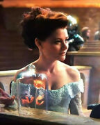Once Upon A Time Tv Screen Worn Original Belle Camelot Costume Gown Disney Prop
