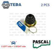 2x Pascal Transmission End Cv Joint Boot Kit Pair G6w012pc I New Oe Replacement