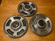 1967 Ss Chevrolet Chevy Chevelle Hubcaps Wheel Covers Center Cap Vintage Classic