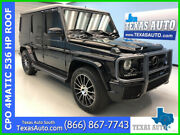 2014 Mercedes-benz G-class G 63 Amg® 2014 G 63 Amg Used Certified Turbo 5.5l V8 32v Automatic 4matic Suv Moonroof