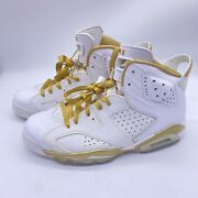 Nike Air Jordan 6 Gmp Gold Moment Package Size 8.5 384664-135