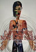 David Bowie/nine Inch Nails 1995 Outside Tour Concert Poster- 1st Print/rex Ray