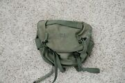 Vintage M-1956 Field Combat Military Butt Pack 1962