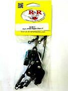 Randr Outrigger / Downrigger Clips R2 - Boat Fishing Rigger Clips - 2 In Pack New
