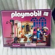 New Playmobil 5324 Bathroom And Figures Set In Sealed Box