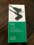 Brand New Black Flexson S1-spc 14andrdquo Short Power Cable [sonos One Play 1] Qty 1