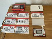 Superior Boxed Nintendo Game And Watch Ball Re-issue Lcd Electronic Game - Mint