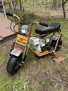 Vintage Trail Horse Gto1400 Minibike Original With Lightcoil Engine