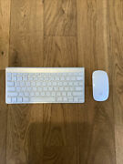 Apple Wireless Bluetooth Keyboard Model A1314 And Mousemodel A1296 Combo