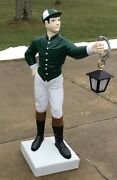 Custom Lawn Jockey 44 Statue Ornament Ask About Ny Nj Pa Delivery Horseracing