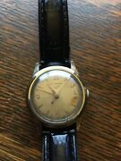 Vintage Heuer Self-wind Mens Watch With Gold Cap
