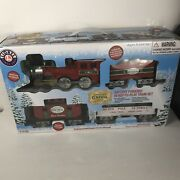 Lionel North Pole Central Lines – 37 Piece Christmas Train Set Battery Operated