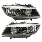 Pair Hella Left And Right Headlight Set For Bmw 328i 335i Xdrive And 335d
