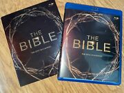 The Bible The Epic Miniseries Blu-ray 2013 4-disc Set Slipcase Edition