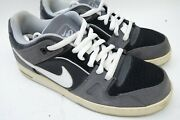 Nike Air Zoom Oncore 2 Suede Skater Sneakers Shoes366630-024 Gray Men Size 12