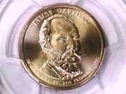 2011 P James Garfield Presidential Dollar Pcgs Ms 67 Position A 19963093