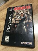 Resident Evil Long Box - Playstation 1 Ps1 - Complete - Tested And Working