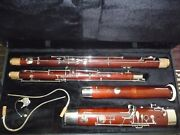 Andnbspbassoon Schreiber. Linton. All New Pads And Cork. New Case. Bocal 1.2.