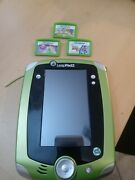 Leap Pad Ultra Bundle With Case And 3 Game Missing Stylus And Charger