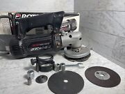 Rotozip Spiral Saw Scs01 Corded Rotary Tool With Extras Zip Bits W Manuals