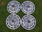 1960and039s Chevrolet Chevy Impala Ss Spinner Hubcap Wheel Cover Measure 14
