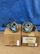 Nos 65/66 Mustang Gt Coupe Convertible Fastback Front Parking Lamp Lights