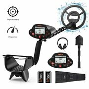 Tacklife Professional Metal Detector Pinpoint Function Disc Notch Waterproof