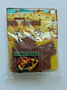 Vintage Dime Store Knock Off 1960s Fort Cheyenne Frontier Mini Set Sealed Mip