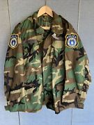 Usaf Security Forces Mp Woodland Field Jacket Nwt-med Reg- Air Force Sp-police